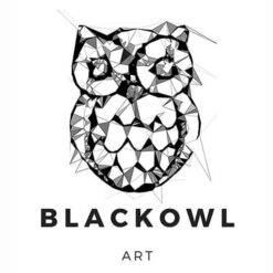 BLACK OWL ART
