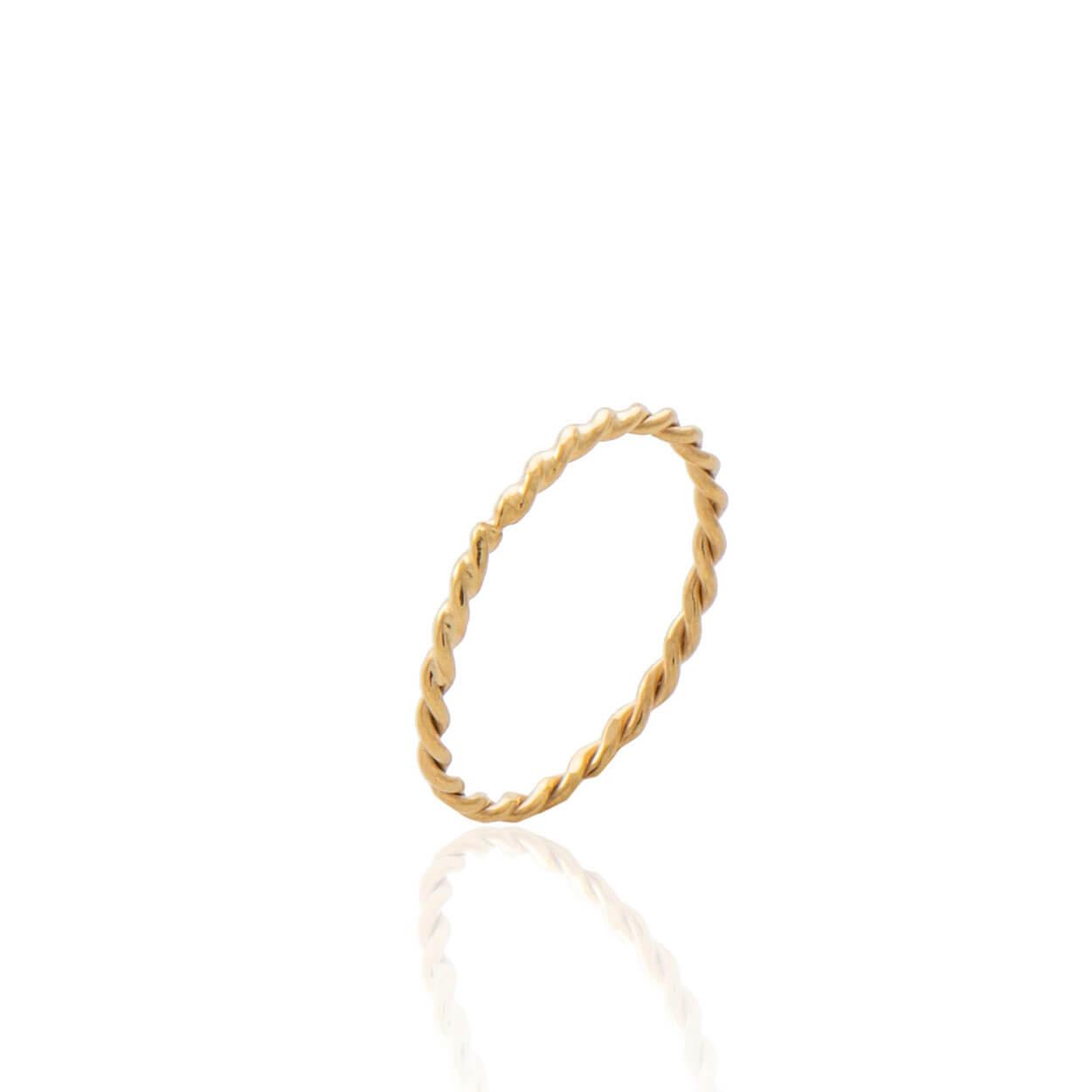 Δαχτυλίδι Karma Χρυσό