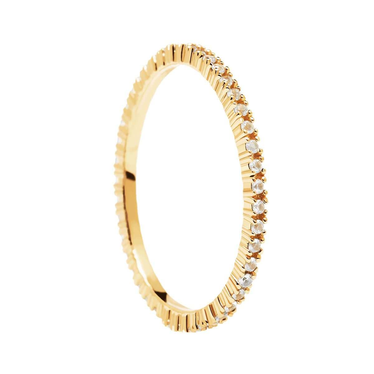 Δαχτυλίδι PDPaola White Essential Gold